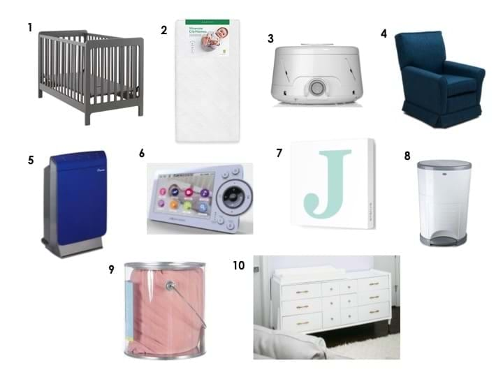 Setting Up Your Nursery 10 Must Haves To Consider