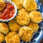 Mealtime Monday: Heathy Baked Parmesan Chicken Nuggets