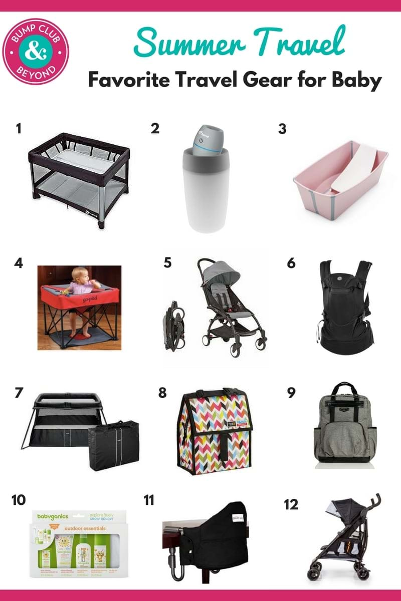 Favorite travel gear for baby bump club and beyond for Travel gear for toddlers