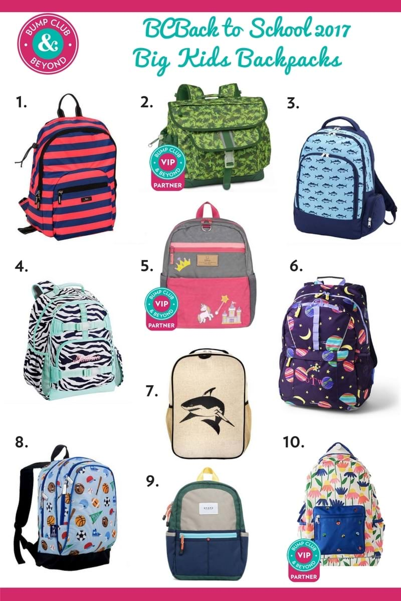 backpacks for big kids