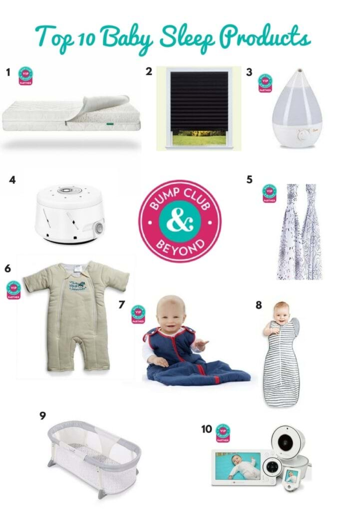 Top Ten Baby Sleep Must Haves Bump Club And Beyond