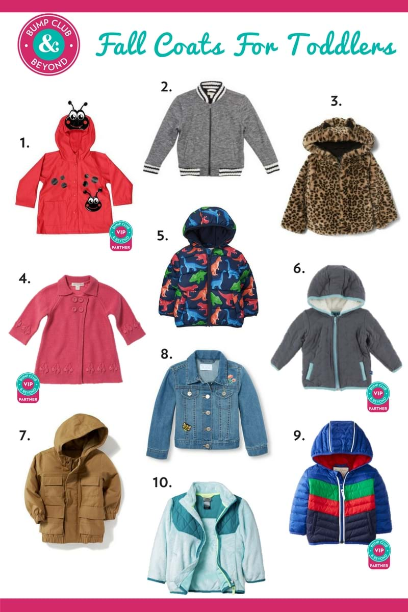 c122d1c3353d Best Fall Coats For Toddlers