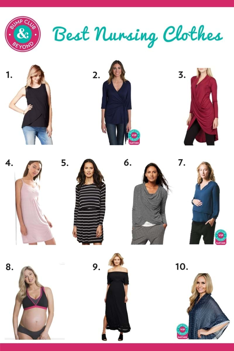 17d32cb6266 That's why we did the hard work for you. We found some of the cutest and  most practical nursing clothes out there and rounded them up below.
