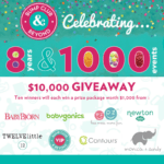 CELEBRATE 1000 EVENTS WITH OUR $10,000 GIVEAWAY